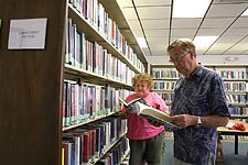 Residents Enjoy Reading Center
