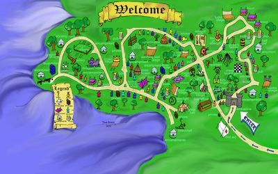 Annual Florida Renaissance Festival Map