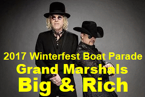Country Legends Big & Rich named 2017 Grand Marshals