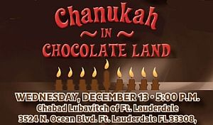 Grand Chanukah Party - Chanukah in Chocolate Land