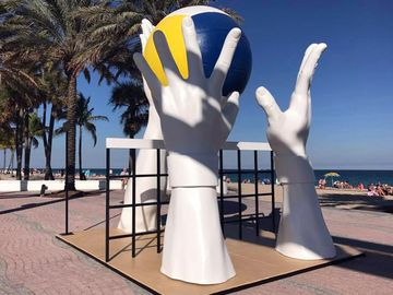 Swatch Beach Volleyball Sculpture