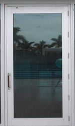 Impact Glass Balcony Door
