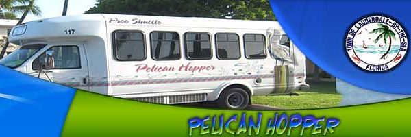Click Here to Pelican Hopper Web Page for Route, Stops and Timetables