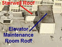 Roofs on Rooftop Maintenance Room and Stairwell