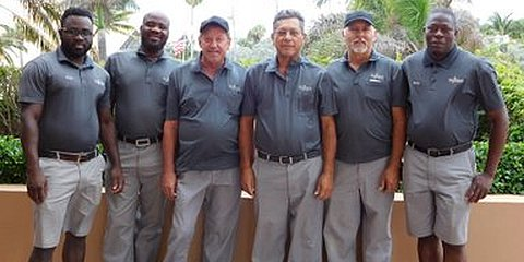 Regency Tower Maintenance Staff - Nesly, Marc, Mike, Freddie, Charlie and Rocky