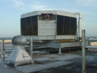 Regency Tower Rooftop Cooling Tower