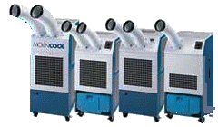 Spot Coolers for Rent