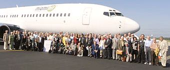 Galt Mile Residents Prepare to Fly to Tallahassee prior to last year's Community Association Day Event
