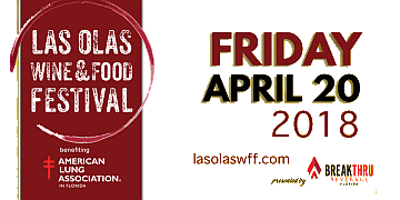 Click to the annual Las Olas Wine and Food Festival web site