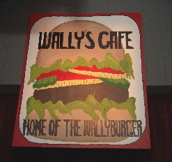 Wally's Café is a gag-filled comedy